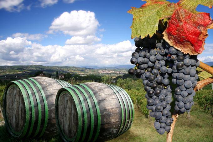 Chianti i Toscana