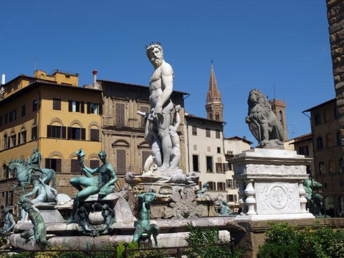Florens Piazza della Signoria