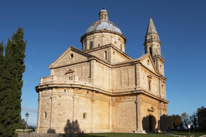 Montepulciano kyrka Madonna