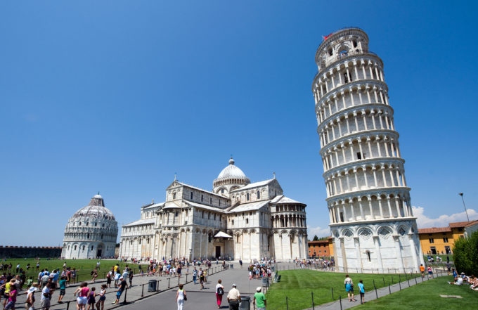 Pisa tornet